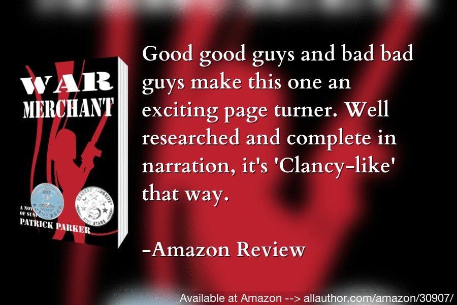 """Have your schedule cleared since you won't want to put down this book until its conclusion. Order """"War Merchant"""" now!  #mustread #fiction #thriller #suspense #action #crime #FemmeFatale #doublecross https://allauthor.com/amazon/30907/pic.twitter.com/6OeVXNl4Yv"""