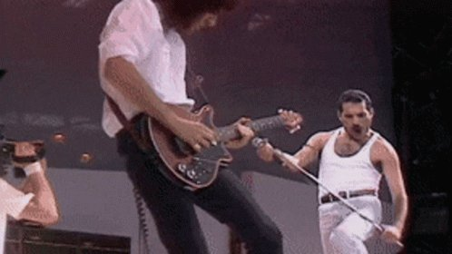 If you had a time machine where would you go and why..... oh me haha I WOULD GO TO WEMBLEY STADIUM JULY 13TH 1985 TO SEE FREDDIE MERCURY AND QUEEN......... Why........ to propose ofcourse
