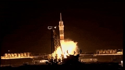 Thomas Pesquet Launch GIF by European Space Agency - ESA
