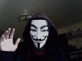 Anonymous Hacker GIF