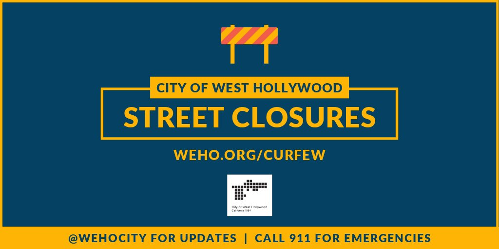 Image for the Tweet beginning: 🚧 Street closures for today,
