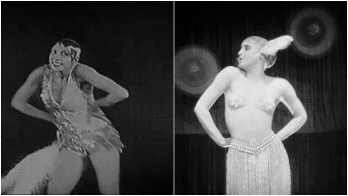 Siren Of The Tropics/Metropolis  #sidebyside #fritzlang #JosephineBaker #silentmovies #silentfilm #movies #cinema #film @DancerOnFilm #dancepic.twitter.com/lkMh6vvWSg