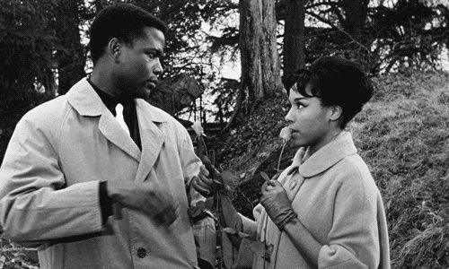 RT @oldhllywoods: sidney poitier and diahann carroll in paris blues (1961) https://t.co/9FYCw7NfNW