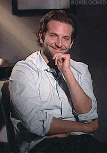 Bradley Cooper Wave GIF