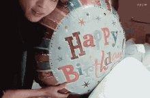 Happy Birthday Balloon GIF