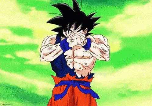 Dragon Ball Super Saiyan GIF
