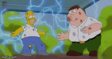Homer Simpson Swap GIF