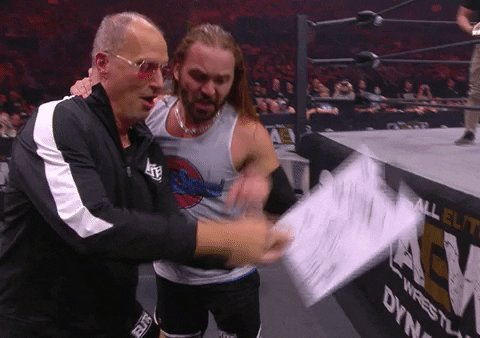 Look At This Pro Wrestling GIF by ALL ELITE WRESTLING
