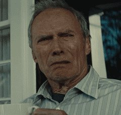 angry clint eastwood GIF