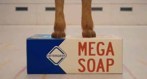 Mega Soap GIF