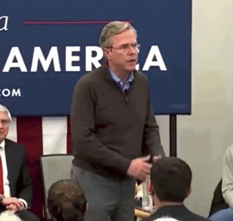 Please Clap Jeb Bush GIF by MOODMAN