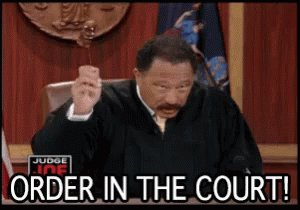 Order In The Court GIF