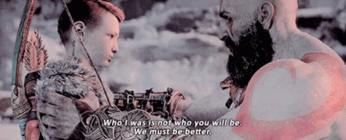 Kratos Who IWas Is Not Who You Will Be GIF