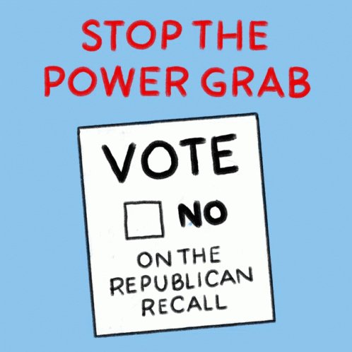 Keep CABlue Oppose The Recall GIF
