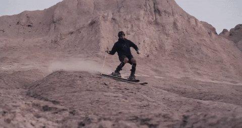 ski skiing GIF by Tomas Ferraro, Sports Editor
