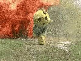 Run Fire GIF