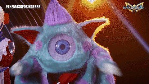 RT @MaskedSingerBR: A noite foi deleeeee! Parabéns, Monstrinho! 👾🥳 #TheMaskedSingerBR https://t.co/doJExxz4Tv