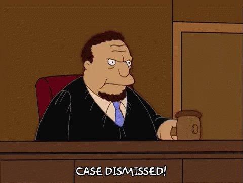 Gavel Case Dismissed GIF