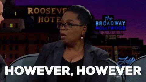 However Oprah GIF