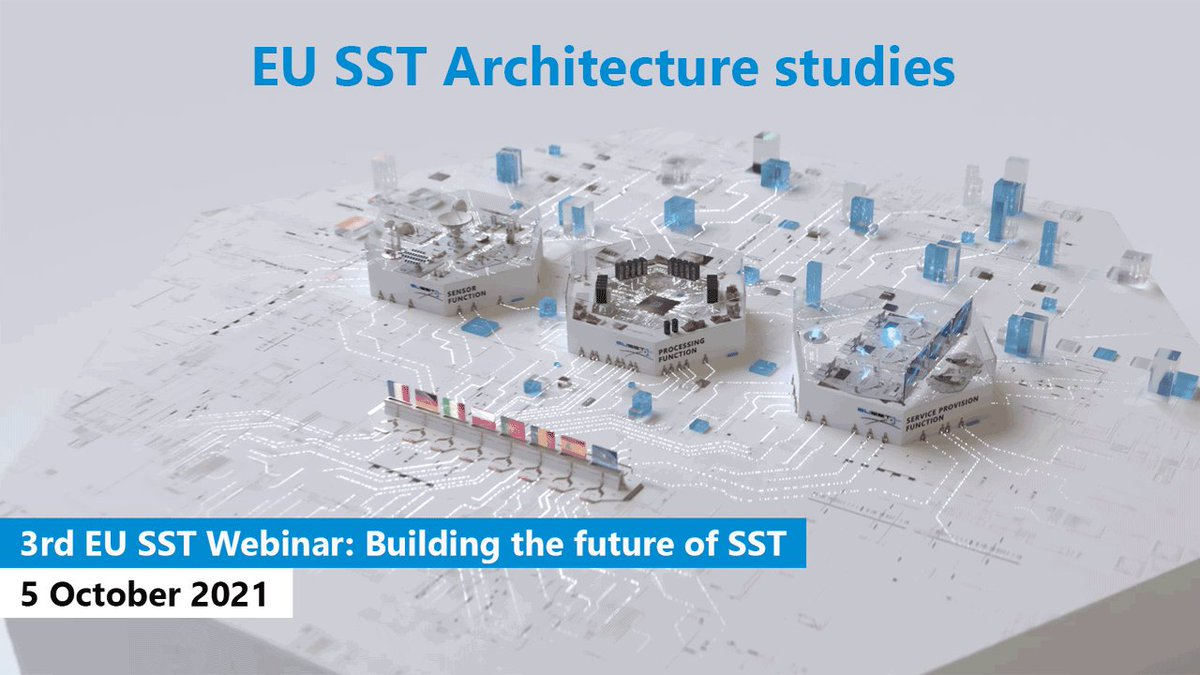 Image for the Tweet beginning: The 3rd #EUSSTwebinar takes place