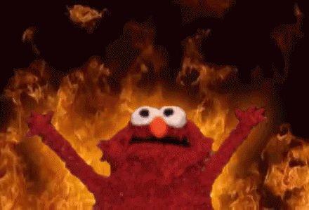 Elmo Fire GIF