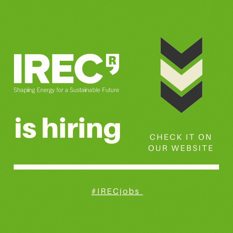 Image for the Tweet beginning: 🔎  @IREC_Energia is hiring!  🔹Project