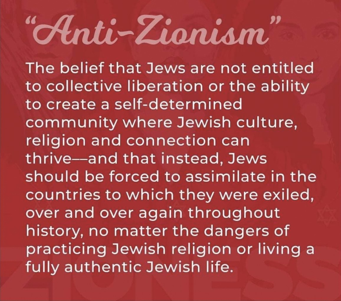 Anti-Zionism is a politically correct way to spread antisemitism with impunity.