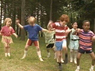 Kids Playing GIF by moodman