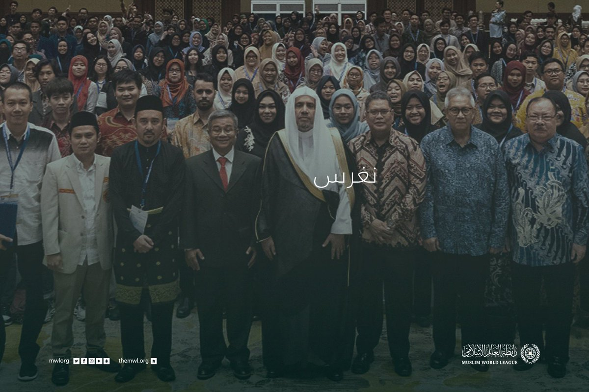 Image for the Tweet beginning: رسالتنا السلام، مع الأرض والإنسان.
