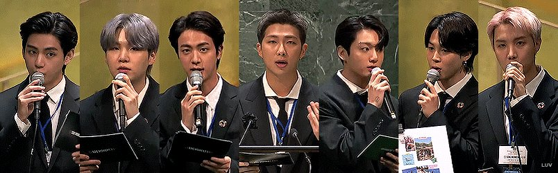 @luvviabts's photo on UN General Assembly
