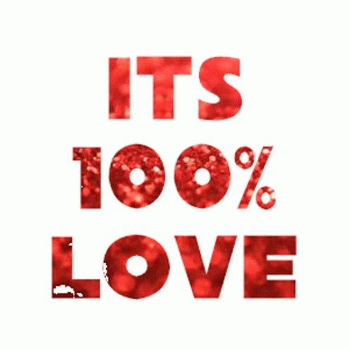 Percentage Love GIF