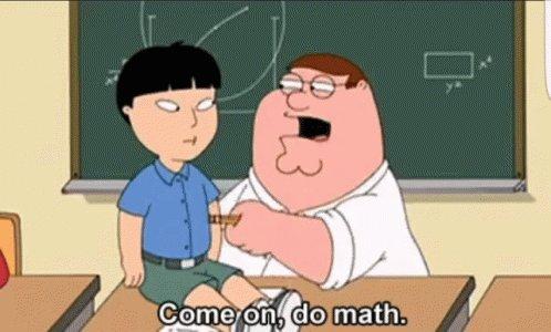 Do Math Asian GIF