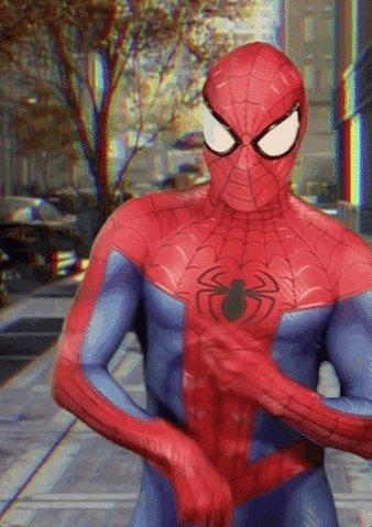 celebrating spider-man GIF ...