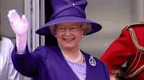 Bye Queen GIF