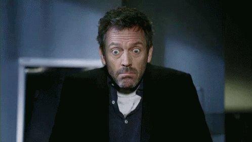 Idk Hugh Laurie GIF