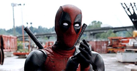 deadpool applause GIF