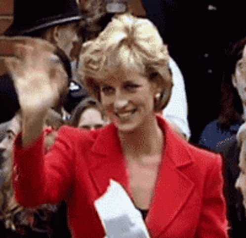 Happy birthday to the one & only    Here s a GIF of Princess Diana in honor of your special day