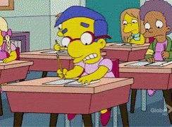 The Simpsons Milhouse GIF