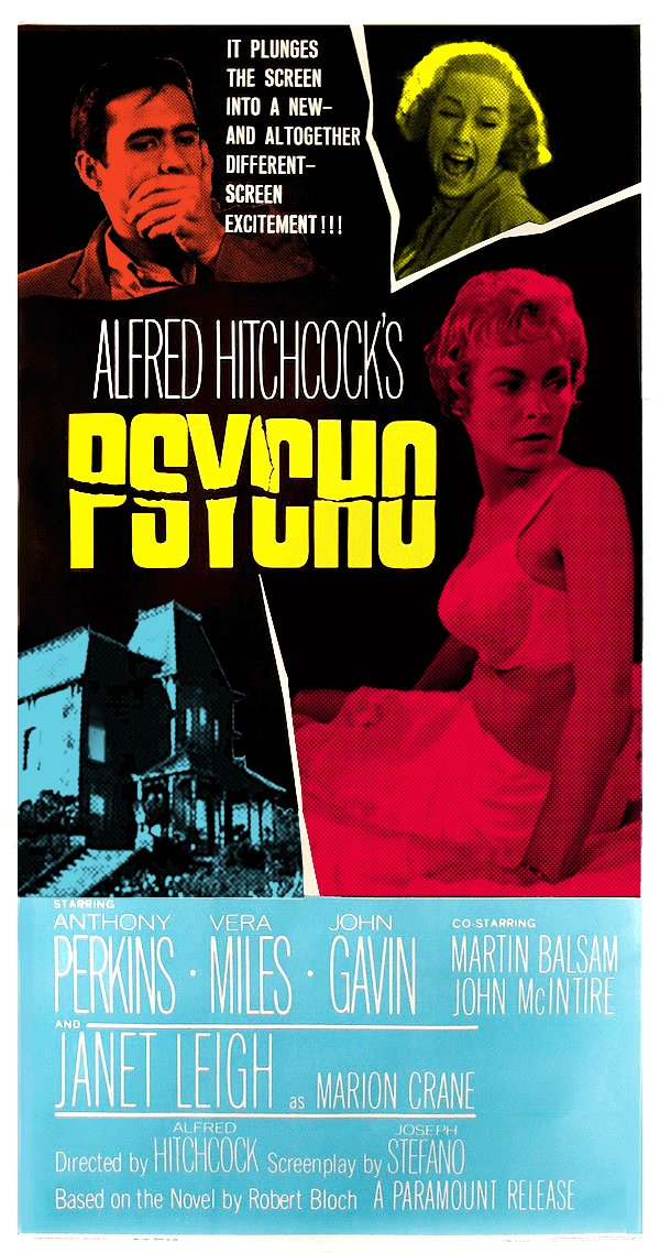 Psycho premiered in NYC on this day in 1960. Wide released was September 8, 1960. #horror #Hitchcock pic.twitter.com/ISfwXM6UQF