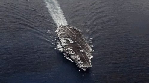America Aircraft Carrier GIF