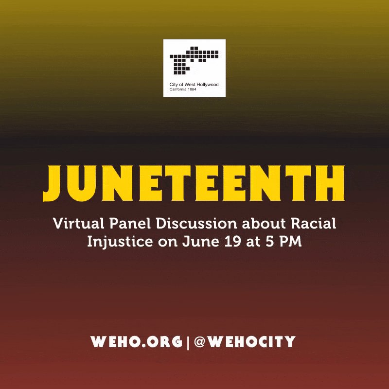 Image for the Tweet beginning: In recognition of #Juneteenth, we'll
