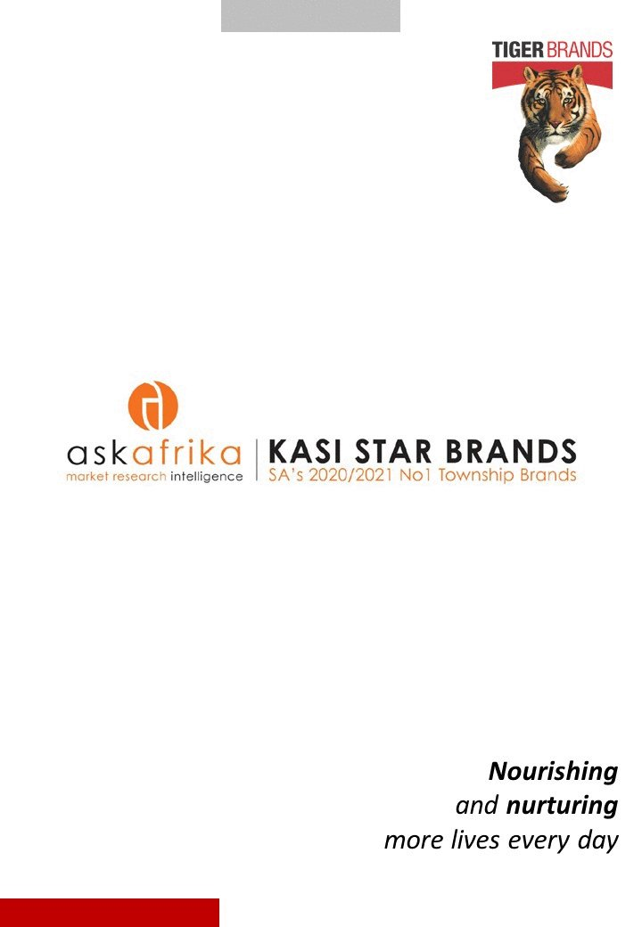 We are thrilled to have our brands announced as winners in numerous categories in the 2020/21 Ask Afrika #KasiStar Brands Survey, which aim to recognise brands that are most loyally used by South Africa's township consumers. We are delighted by this recognition.   Thank U Mzansi https://t.co/9x7oDJusP8
