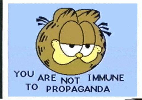 Propaganda Garfield GIF