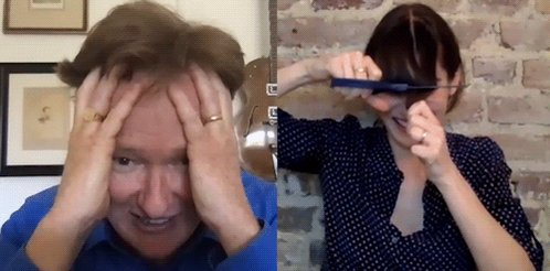 Watch Conan cut Lizzy Caplan's bangs over Zoom tonight again @ 11/10c on @TBSNetwork! youtu.be/Annr4rGgfsQ