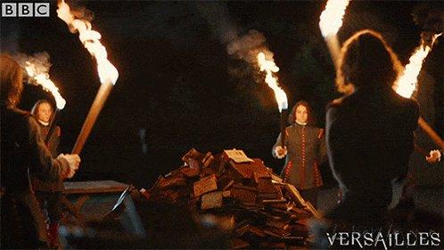 book burn GIF by BBC
