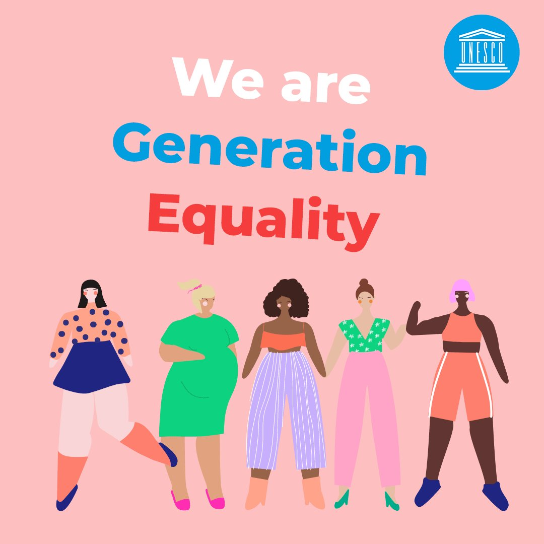 ❌ 767M girls were out of school due to #COVID19 ❌ 11M of them might never go back to school ❌ 47M women will be pushed below the poverty line  Let's bring these numbers down to 0 & match words with actions.  We're #GenerationEquality: