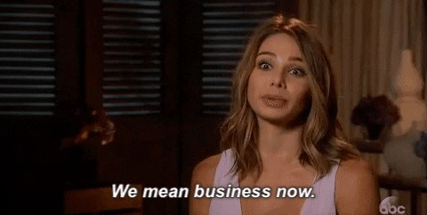 season 21 we mean business now GIF by The Bachelor