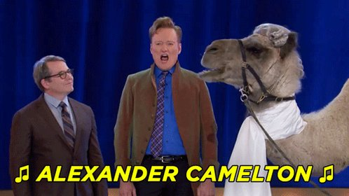 You don't have to wait until July 3rd to see Conan's #Hamilton parody, 'Camelton.' youtu.be/VEqVlb0O8U4