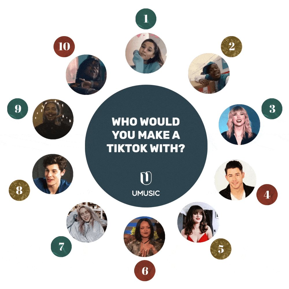 Who would you make a TikTok with? 🕺💃