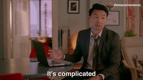 cant explain its complicated GIF by Kim's Convenience